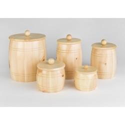 Contenitore in legno di Pino per cereali